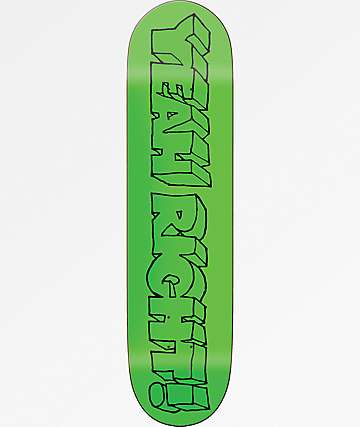 "Girl Yeah Right Films 8.0"" Skateboard Deck"