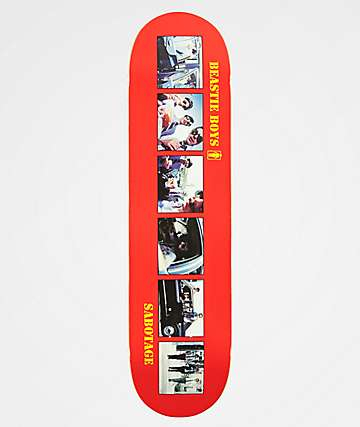 "Girl x Beastie Boys Sabotage 8.0"" Skateboard Deck"