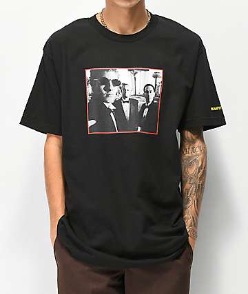 Girl x Beastie Boys Sure Shot Photo Black T-Shirt