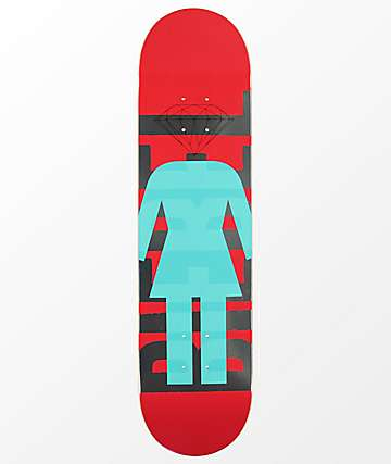 "Girl x Diamond Supply Co. Biebel 7.87"" Skateboard Deck"