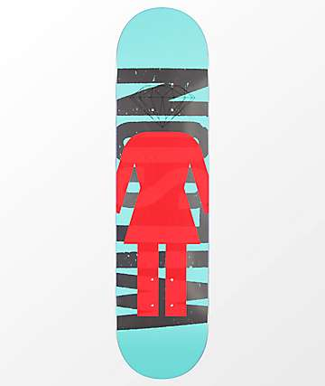 "Girl x Diamond Supply Co. Wilson 7.75"" Skateboard Deck"