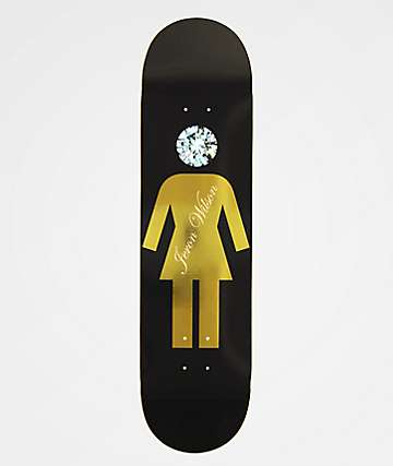 "Girl x Diamond Supply Co. Wilson 8.125"" Skateboard Deck"