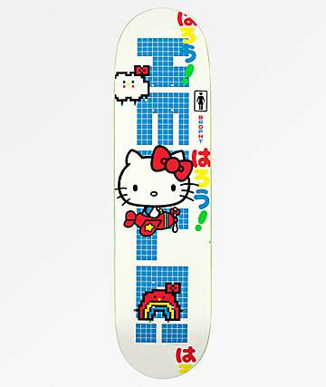 "Girl x Hello Kitty 45th Anniversary Brophy 8.0"" Skateboard Deck"