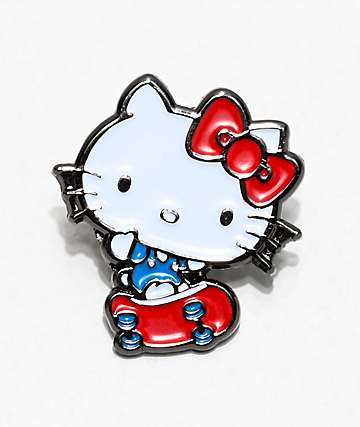Girl x Hello Kitty 45th Anniversary Enamel Pin