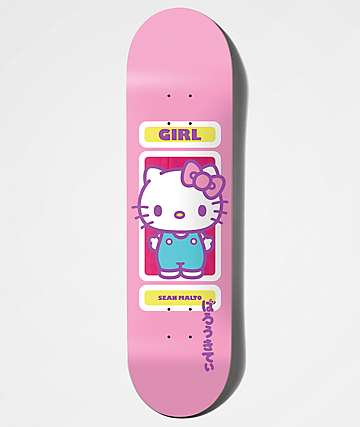 "Girl x Hello Kitty 45th Anniversary Malto 8.25"" Skateboard Deck"
