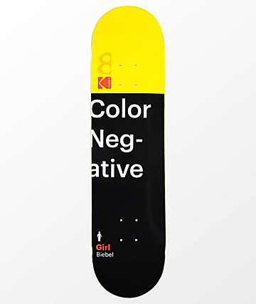 "Girl x Kodak Biebel 8.0"" Skateboard Deck"