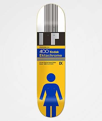 """Girl x Kodak Biebel Barcode 8.0"""" Skateboard Deck"""