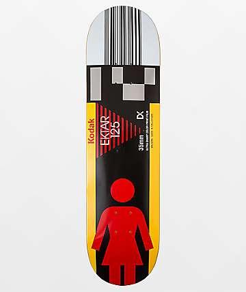 """Girl x Kodak Jeron Wilson 8.125"""" Skateboard Deck"""