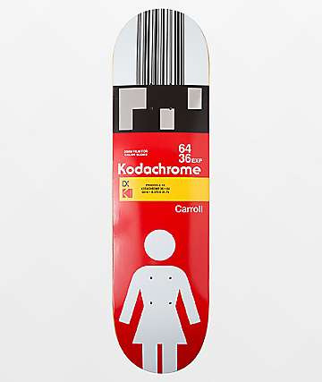 "Girl x Kodak Mike Carroll 8.375"" Skateboard Deck"