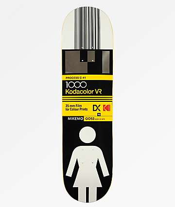 "Girl x Kodak Mike Mo 8.25"" Skateboard Deck"