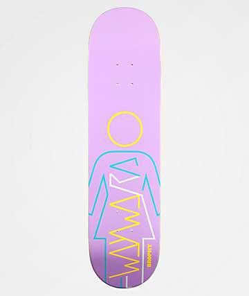 "Girl x Wayward Brophy Purple 8.25"" Skateboard Deck"