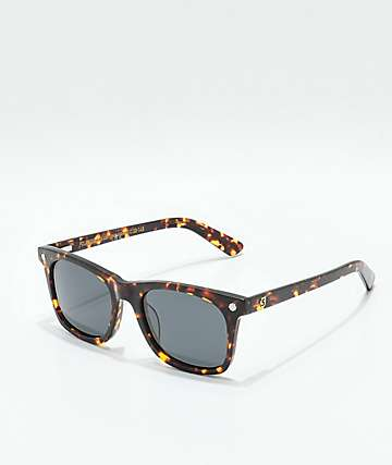 Glassy Mike Mo Polarized Tortoise Sunglasses