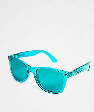 GloFX Color Therapy Aqua Sunglasses
