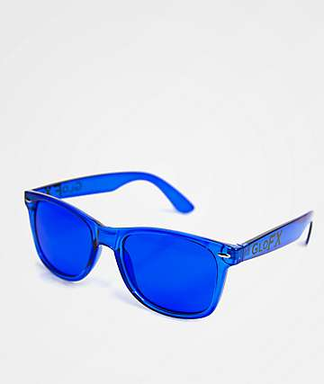 GloFX Color Therapy Blue Sunglasses