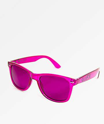 GloFX Color Therapy Magenta Sunglasses