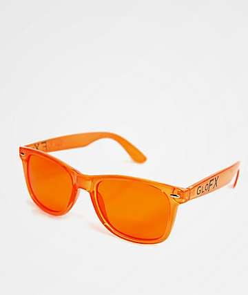 GloFX Color Therapy Orange Sunglasses