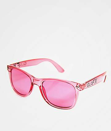 GloFX Color Therapy Pink Rose Sunglasses