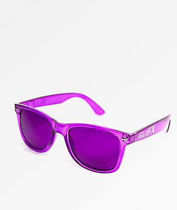 GloFX Color Therapy Violet Sunglasses
