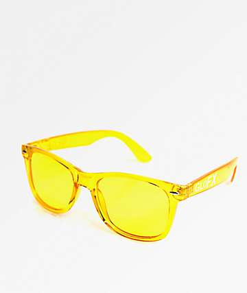 GloFX Color Therapy Yellow Sunglasses