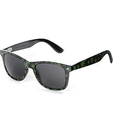 GloFX Weed Leaf Diffraction Glasses