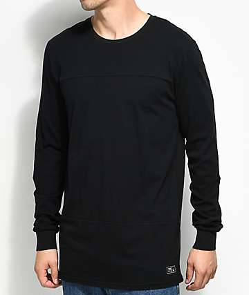 Globe Argo Black Long Sleeve T-Shirt