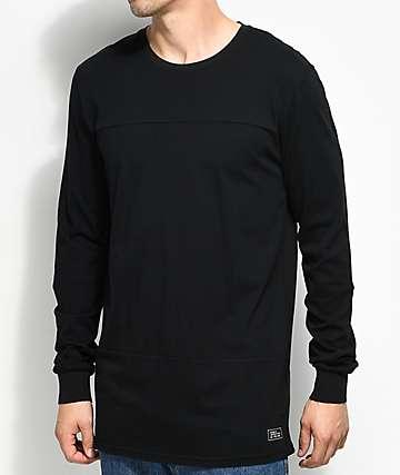 Globe Argo camiseta negra de manga larga