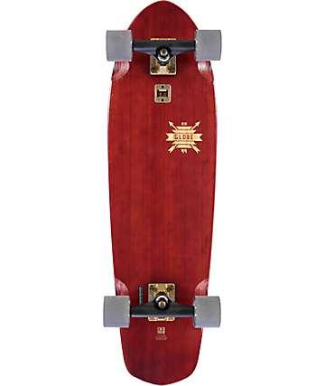"Globe Big Blazer Bamboo Cherry 32"" cruiser skate completo"
