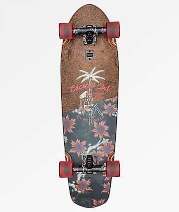 "Globe Big Blazer Coconut & Vault 32"" Cruiser Complete Skateboard"