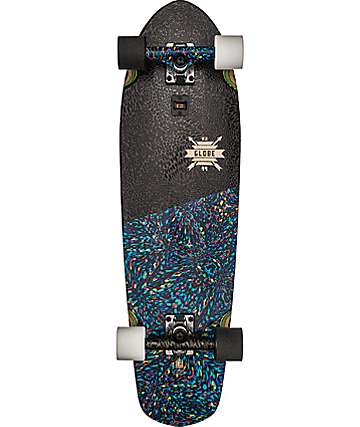 "Globe Big Blazer Rainbow Serpent 32"" Cruiser Complete Skateboard"