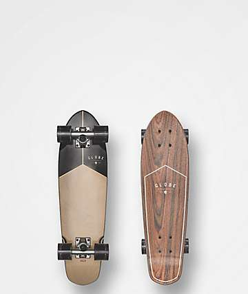 "Globe Blazer Rosewood & Black 26"" Cruiser Complete Skateboard"