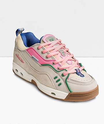 Globe CT-IV Classic Sliver Birch, Pink & Gum Skate Shoes