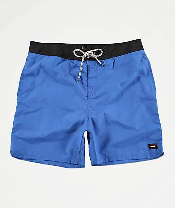 Globe Dana Blue & Black Board Shorts