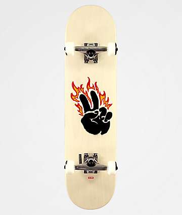 "Globe G1 Argo Red Maple & Black 7.75"" Skateboard Complete"