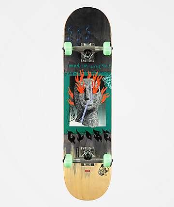 """Globe G1 Firemaker 7.75"""" Skateboard Complete"""
