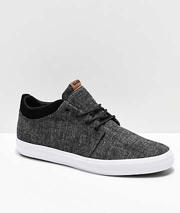 Globe GS Chukka Black Chambray Skate Shoes