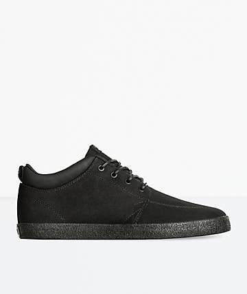 Globe GS Chukka Black Twill & Crepe Skate Shoes