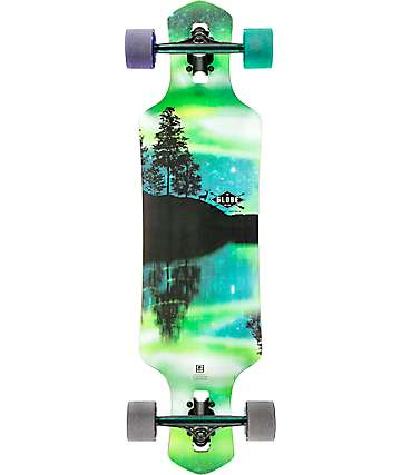 "Globe Geminon Aurora 35"" Drop Through Longboard Complete"