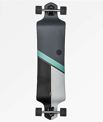"Globe Geminon Charcoal & Ice 41"" Drop Down Longboard Complete"