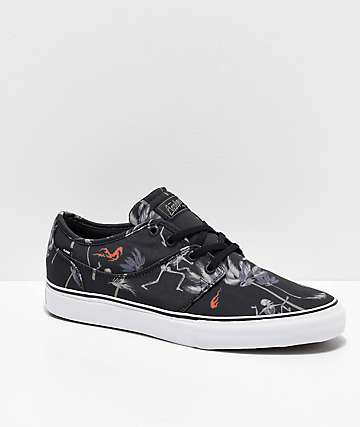 Globe Mahalo Black & Typhoon Skate Shoes