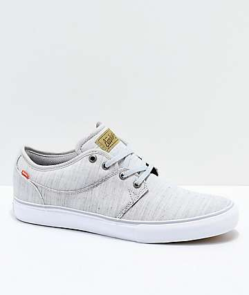 Globe Mahalo Grey & White Skate Shoes