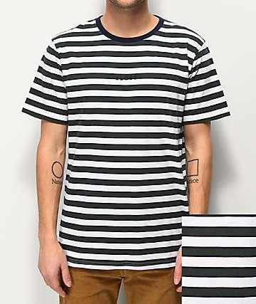 Globe Moonshine camiseta de rayas verdes