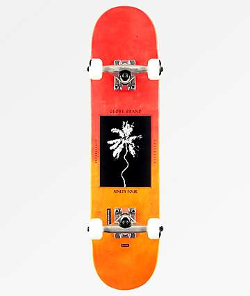 "Globe Palm Off 7.0"" Mini Skateboard Complete"