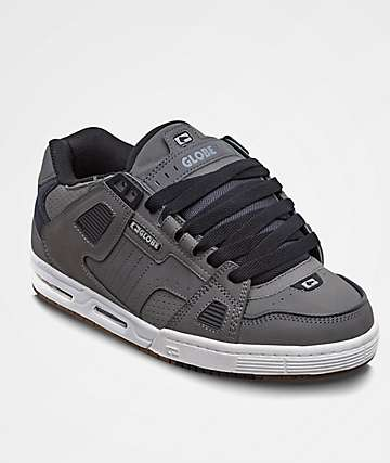 Globe Sabre Charcoal & Dark Shadow Skate Shoes