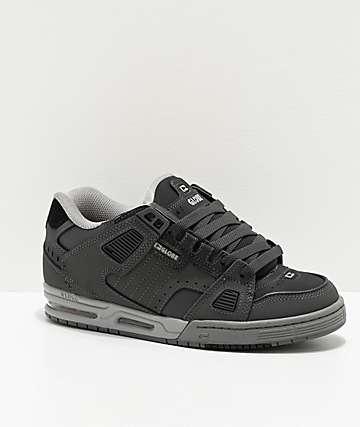 Globe Sabre Dark Shadow & Grey Skate Shoes