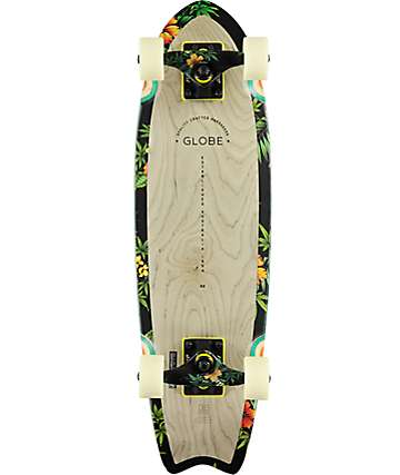 "Globe Sagano Hibiscus 26"" cruiser skate completo"
