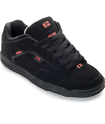 Globe Scribe Black & Red Skate Shoes
