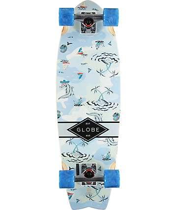 "Globe Sun City Palms 30"" tabla de skate cruiser completo"
