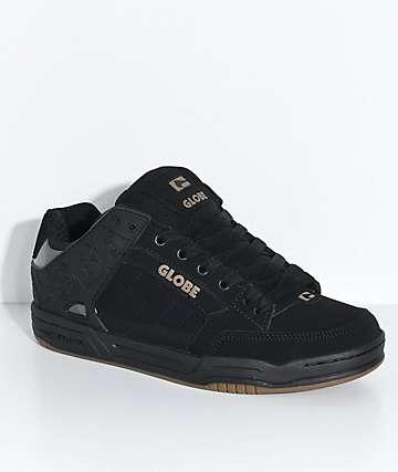 Globe Tilt Black, Black & Camo Skate Shoes