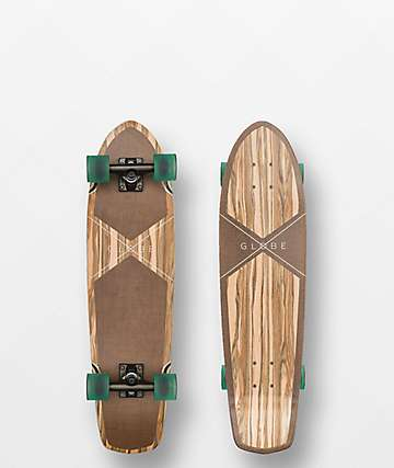 Globe Tracer Classic Applewood & Hemp Cruiser Complete Skateboard