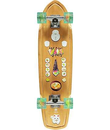 "Globe Tracer Classic Sushi Bamboo 31.125"" cruiser completo de skate"